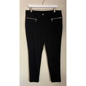 Michael Kors Black Wide Leg Trouser Pants 12
